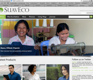 SuavEco organic cotton shirts for a living wage